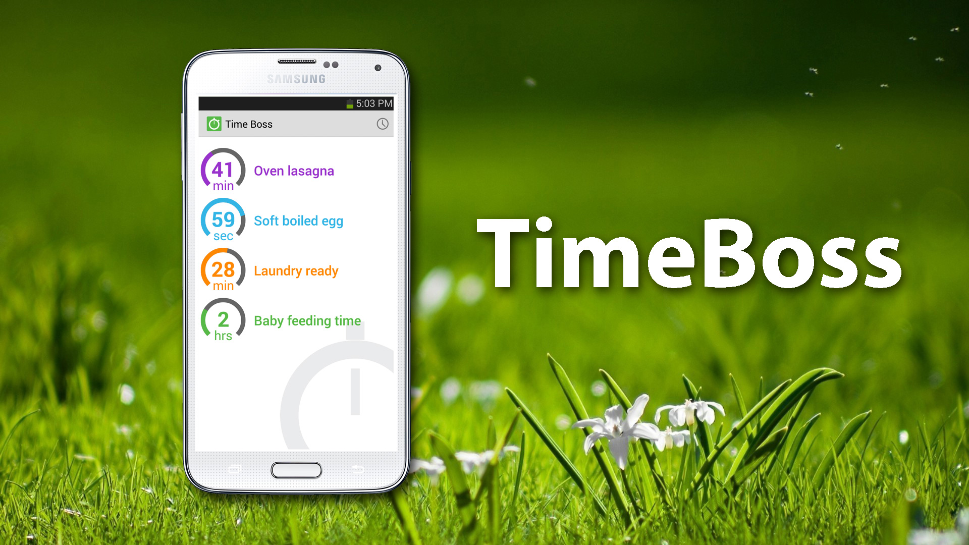 TimeBoss 2 The Best Free Android Timer Stopwatch App