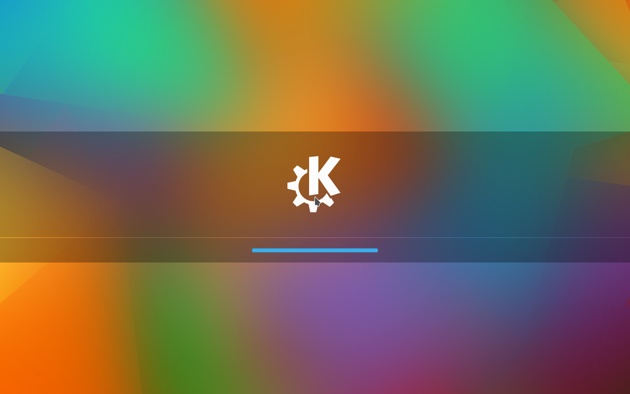 The new Plasma 5.3 start screen