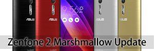 Zenfone 2 Marshmallow update