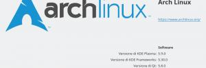 ArchLinux Kde Plasma 5.9